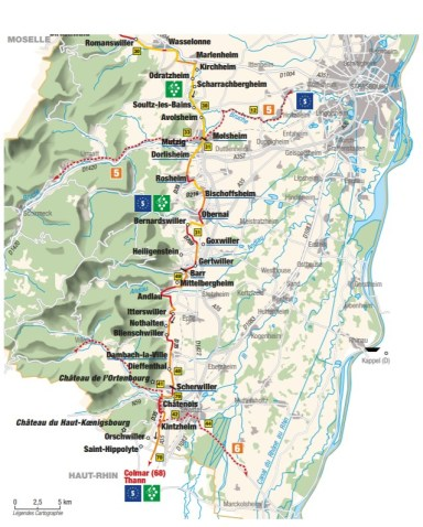 Best cycle route in France - detailed route