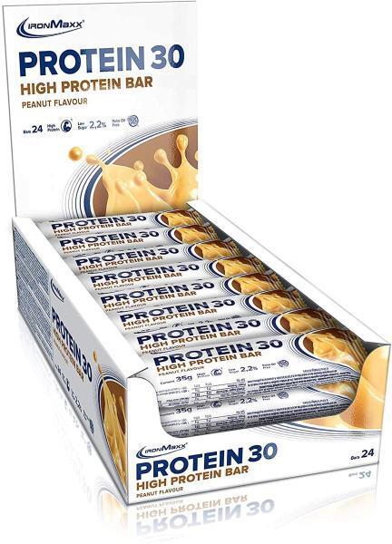 IronMaxx Protein 30 bar, 24 x 35 γραμμάρια πρωτεΐνης