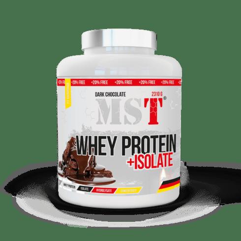 Whey Protein + Isolate | Dark Chocolate | 2310 g