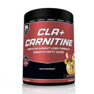 Cla + Carnitine Powder 300γρ