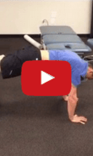Altering the Base of Support With the Plank