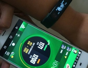 MILO Champsquad band and apps