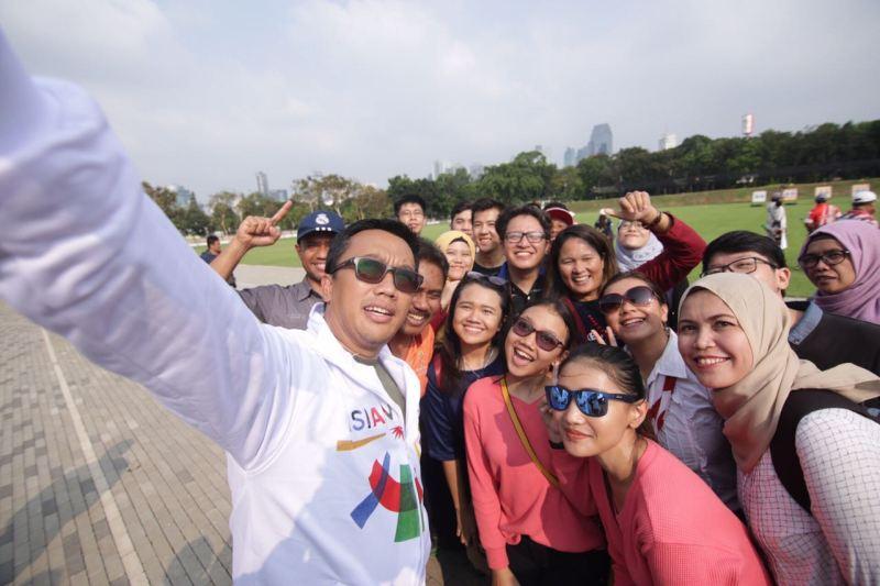 Mendukung Atlet Indonesia untuk Asian Games melalui Media Sosial
