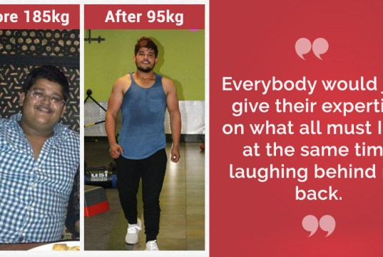Losing 90 kgs, Mukul's achievement is an inspiration to many Indians looking to lose weight & build muscles.