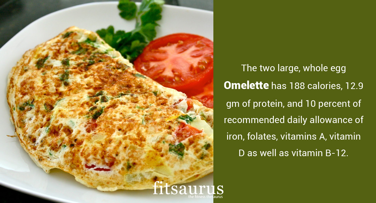 How Many Calories Are There In A Omelette Does It Have Any Health Benefits