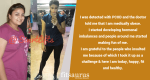 Fitness Story: 29 Year Old Battles PCOD To Lose 45 Kgs & Achieve An Amazing Weight Loss Transformation
