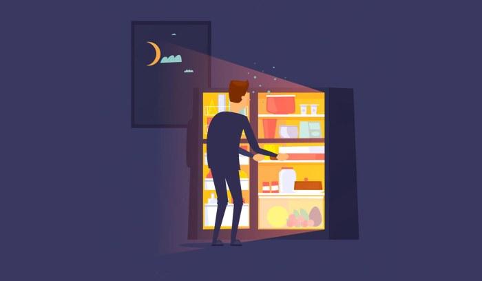 За сколько часов до сна можно есть?
