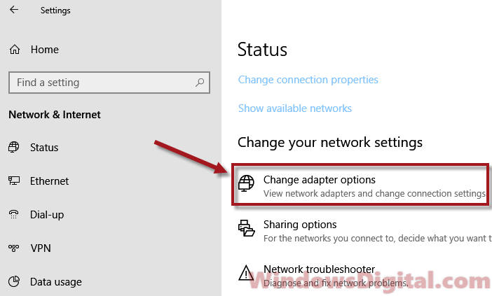 How to find MAC address on Windows 10 without Command Prompt