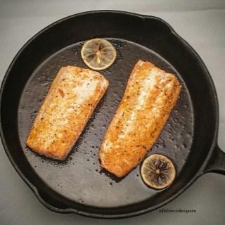 Baked Lemon & Garlic Lovers Salmon