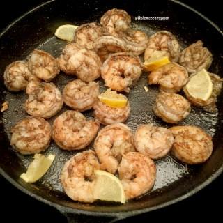 Skillet Jerk Shrimp