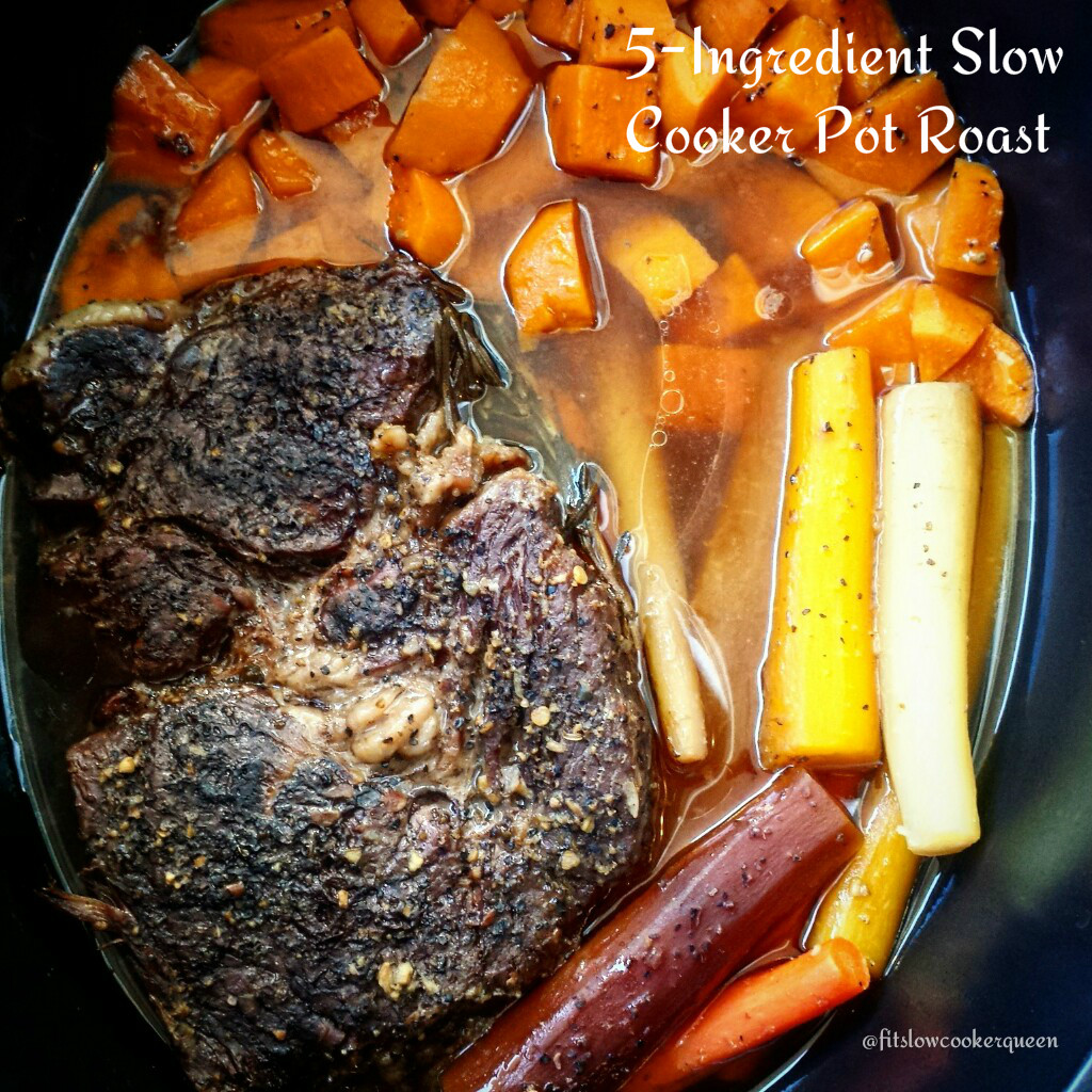 5-Ingredient Slow Cooker Pot Roast