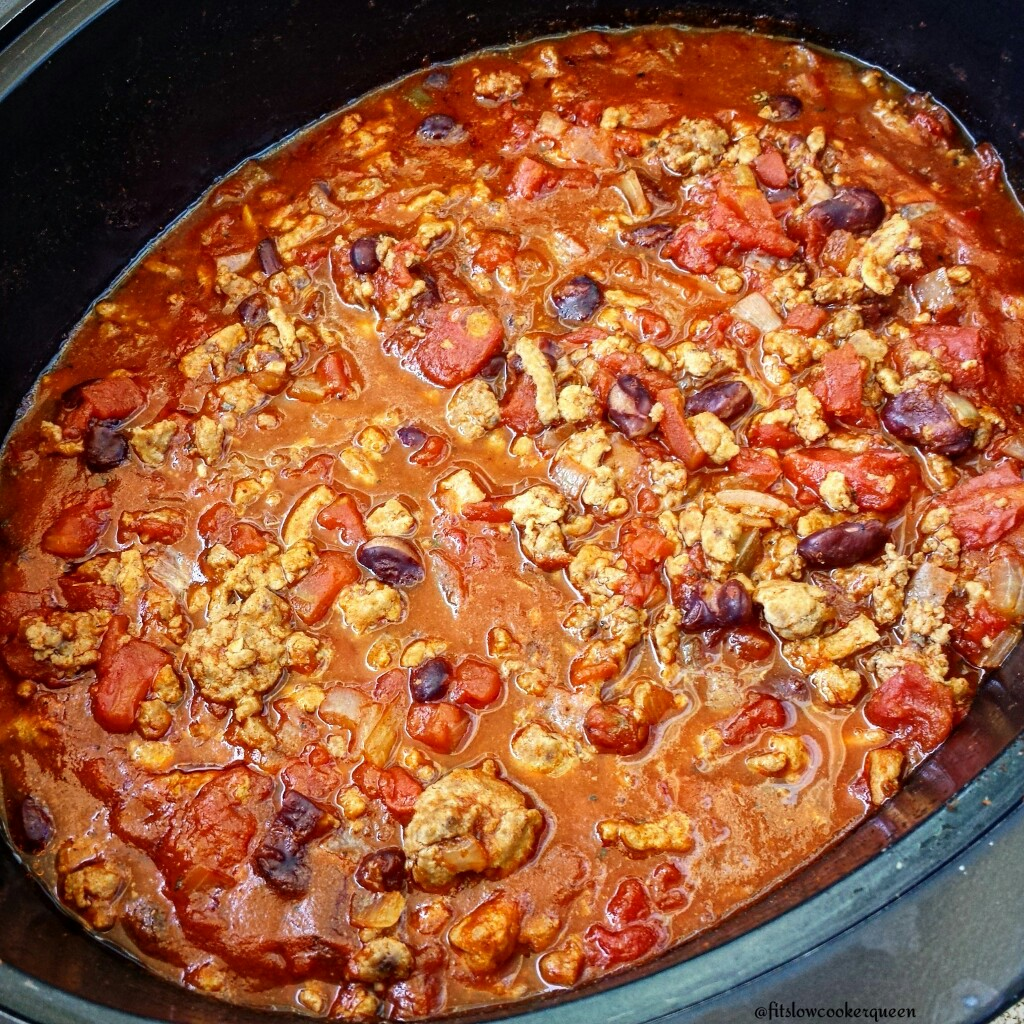 Slow Cooker Chili - Fit SlowCooker Queen