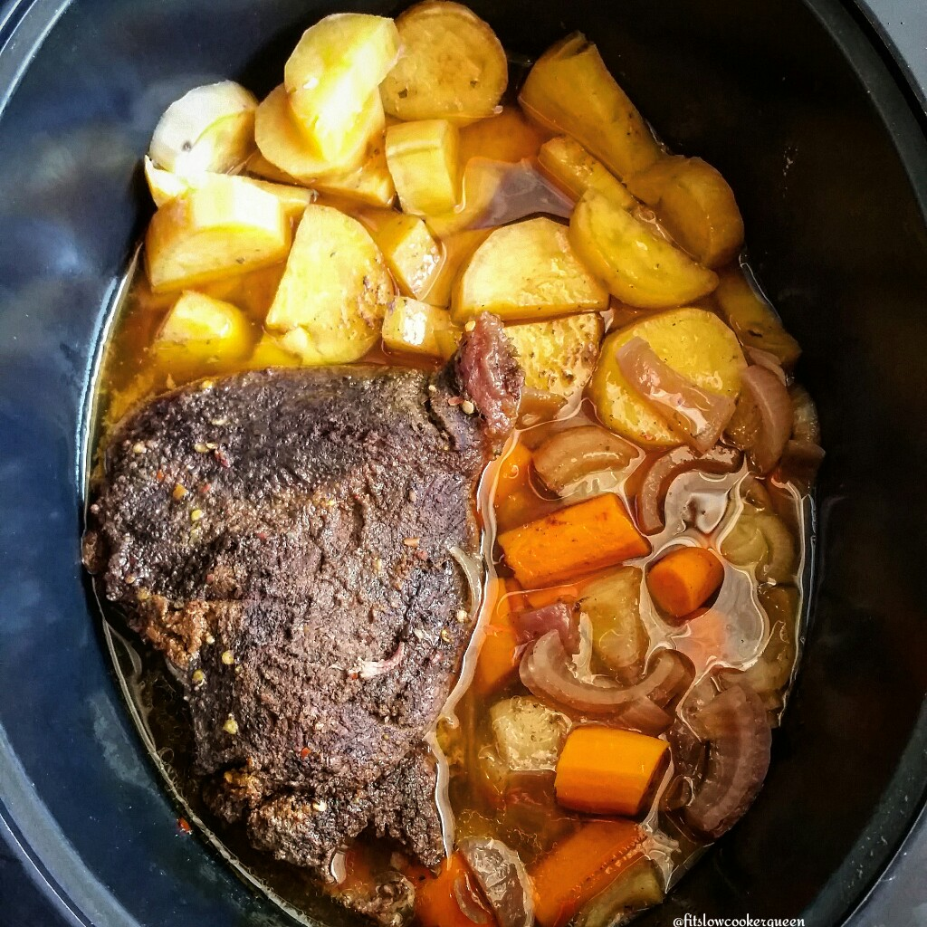 Slow Cooker Moroccan Pot Roast