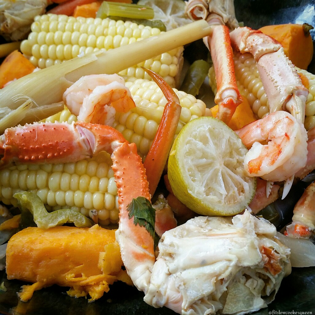 Slow Cooker Thai Seafood Boil