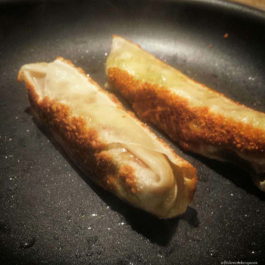Bacon Avocado Egg Rolls