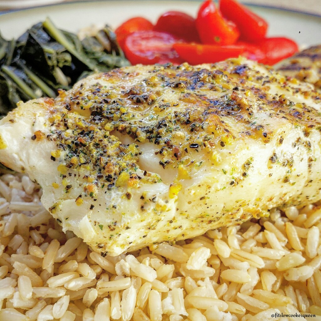 """""""Sea"""" Grilled Cod"""