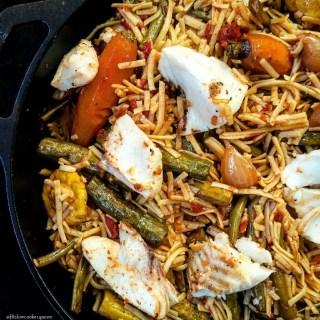 Sablefish w/Pasta & Veggies