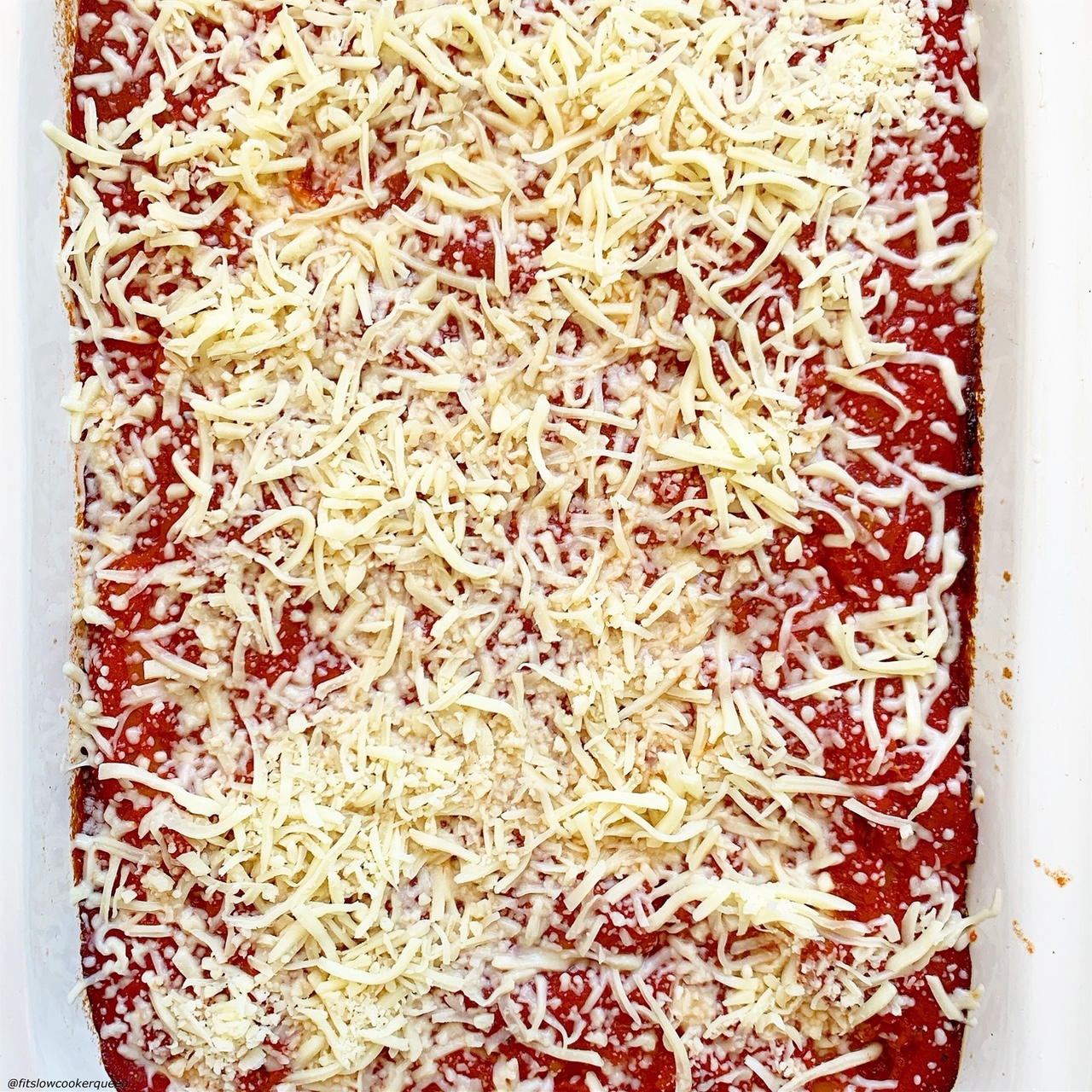 cooked manicotti with cheese added on top to cook some more for slow cooker or instant pot stuffed manicotti