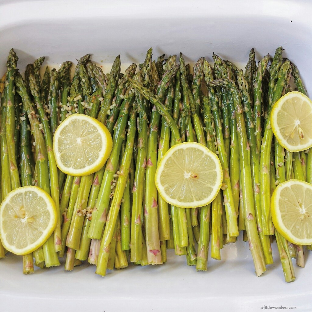 Slow Cooker Lemongarlic Asparagus