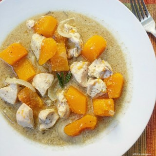 Slow Cooker Paleo Chicken & Butternut Squash Stew