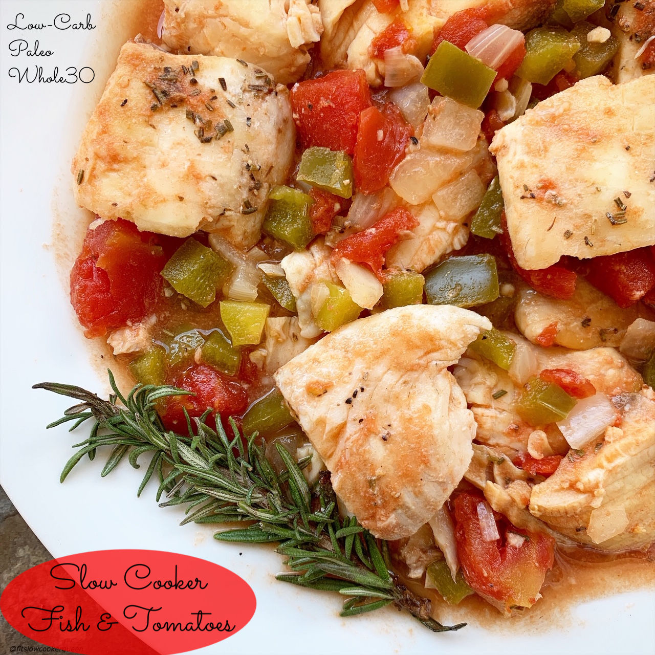 Video Slow Cooker Fish Tomatoes Low Carb Paleo Whole30 Fit Slow Cooker Queen