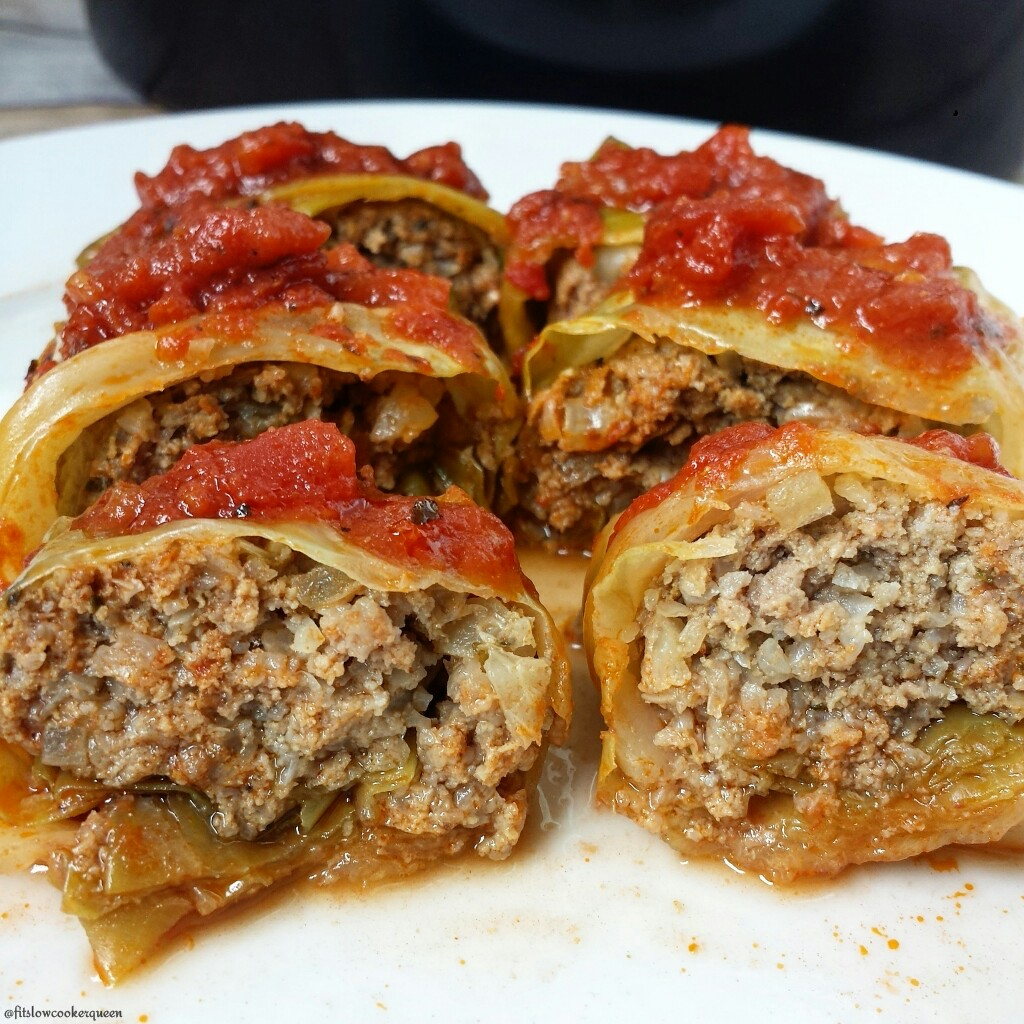 Slow Cooker Paleo Cabbage Rolls
