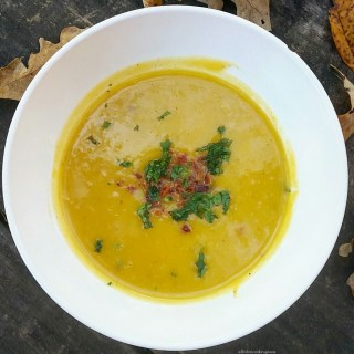 Slow Cooker Butternut Squash Soup (AKA Jorik's World Famous Butternut Squash Soup)