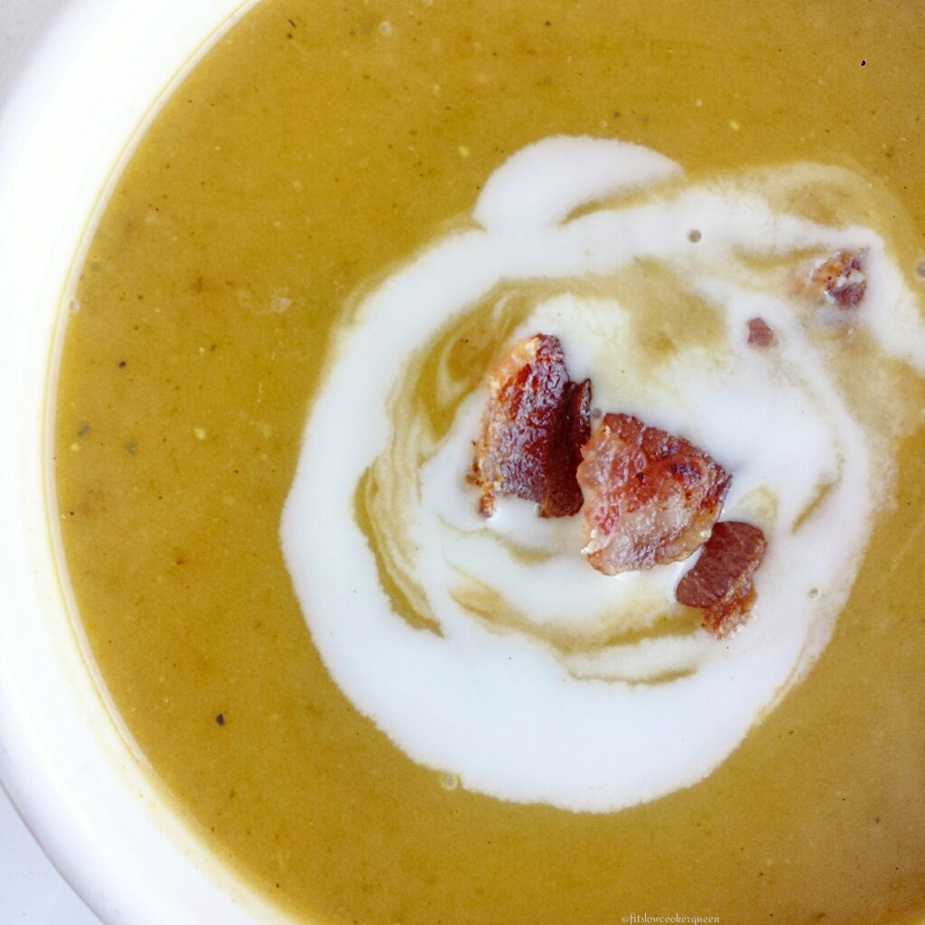 slow cooker butternut squash soup 5