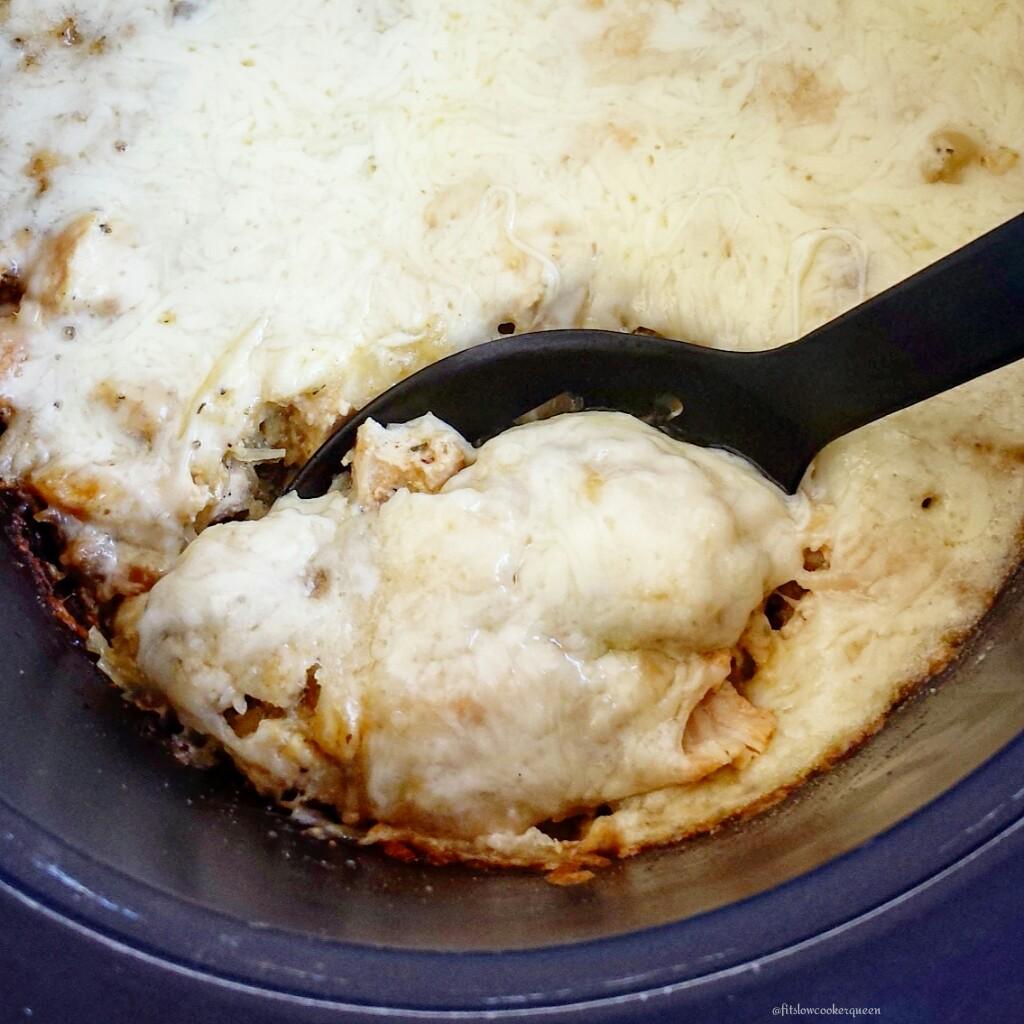 slow cooker low carb turkey tetrazzini 3
