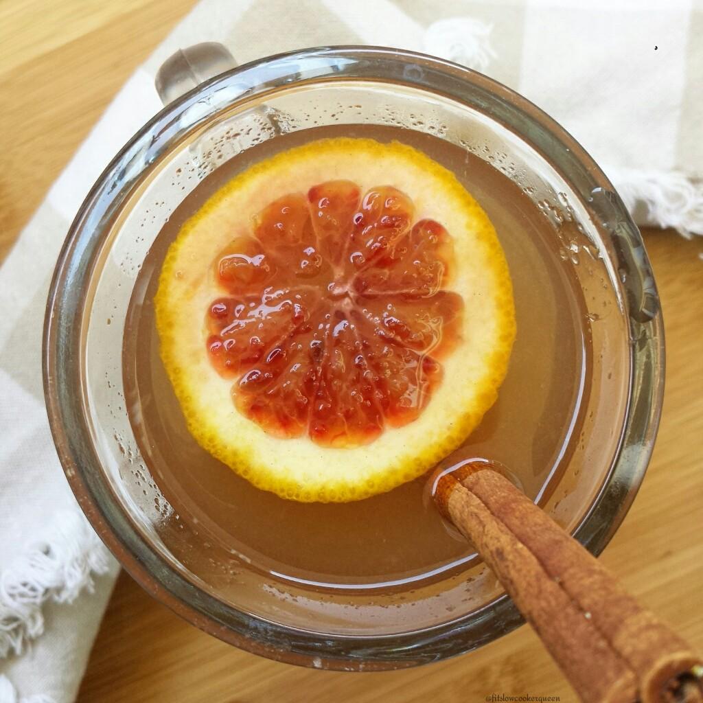 Slow Cooker Apple-Blood Orange Cider 4