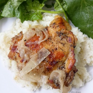 Slow Cooker French Onion Chicken (Whole30, Paleo)