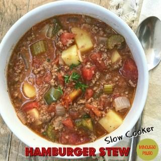 Slow Cooker Hamburger Stew (Paleo,Whole30)