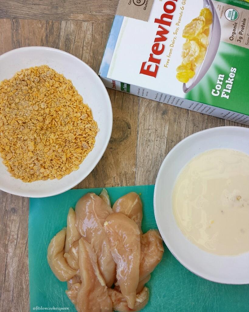 crispy oven baked chicken tenders