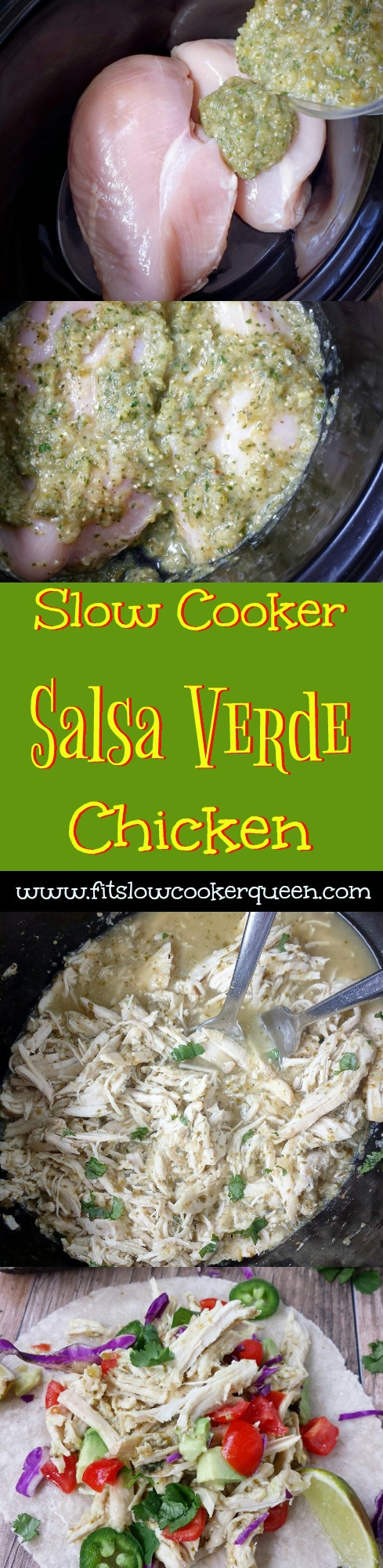 slow cooker salsa verde chicken pin