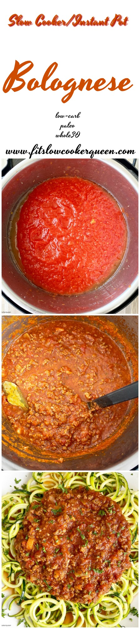 another pinterest pin for Slow Cooker_Instant Pot Bolognese (Low-Carb, Paleo, Whole30)