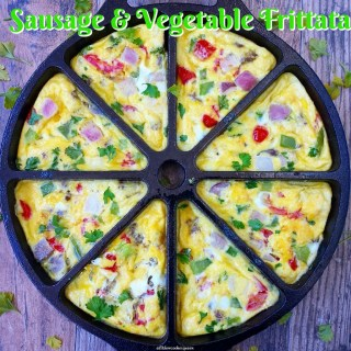 Sausage & Vegetable Frittata (Slow Cooker)
