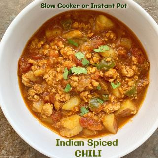 Slow Cooker/Instant Pot Indian Spiced Chili (Paleo, Whole30)
