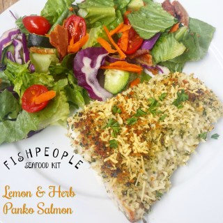 Lemon & Herb Panko Salmon