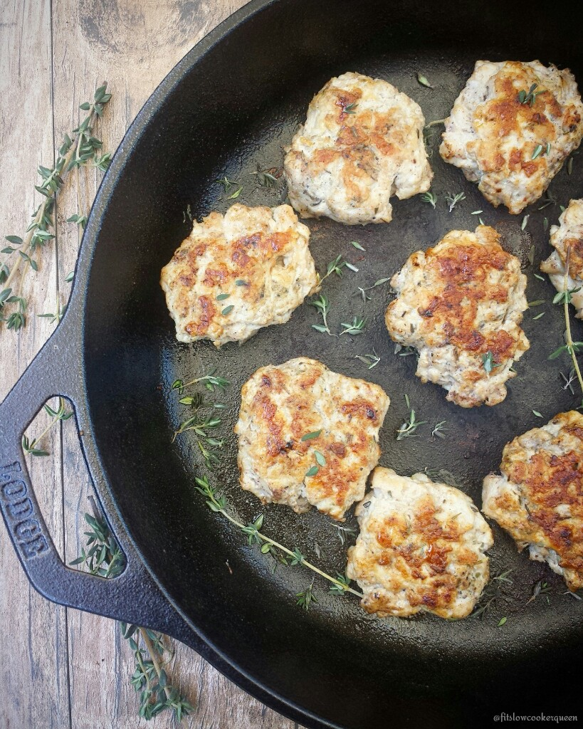 Lean ground meat along with fresh herbs and seasonings produces a healthy homemade breakfast sausage so good you'll never buy store-bought again.