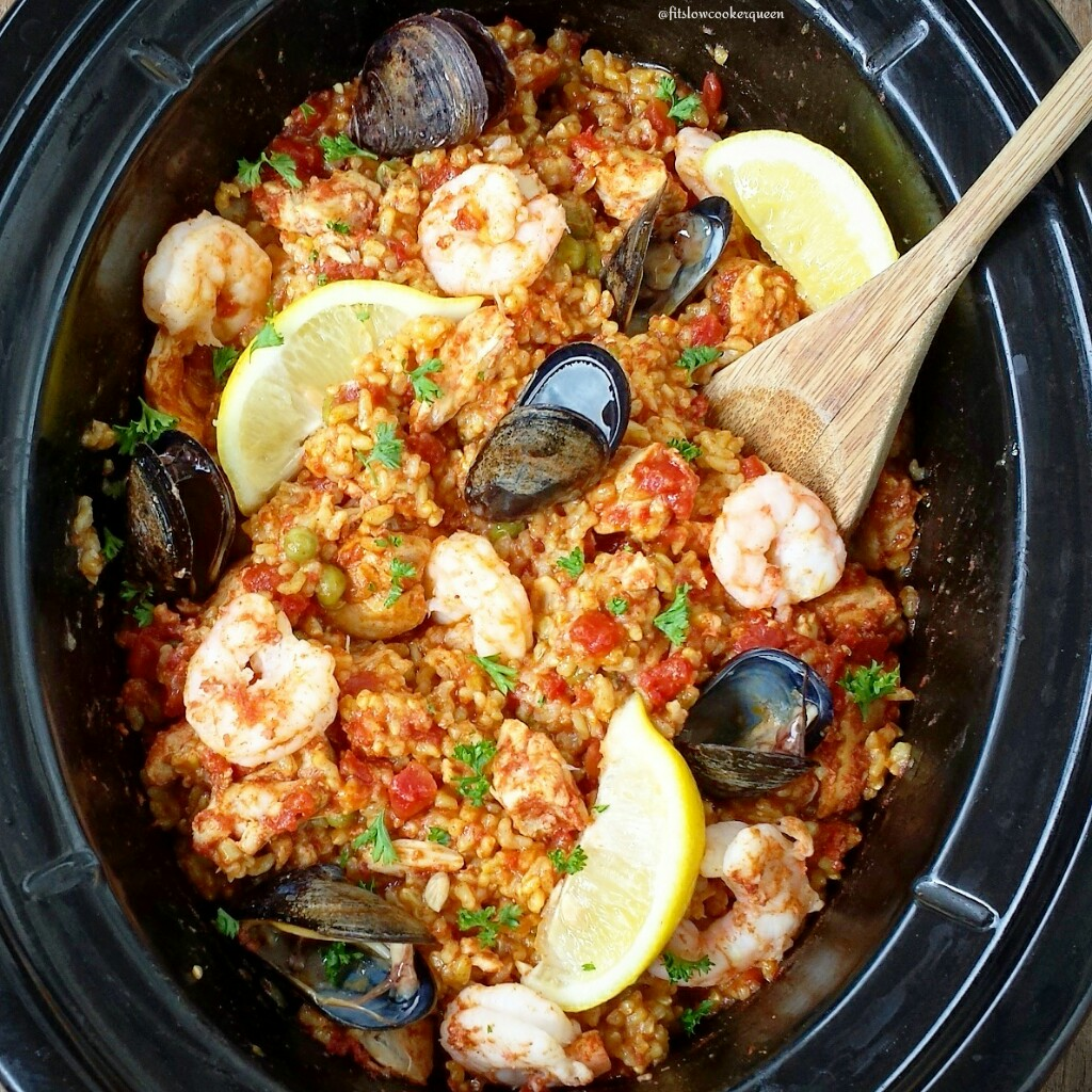 Slow Cooker Paella recommend