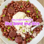 cover pic for Slow Cooker Instant Pot Red Beans and Rice
