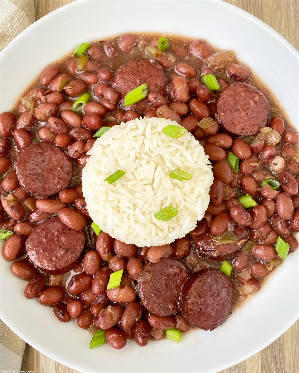 Video Slow Cooker Instant Pot Red Beans And Rice Fit Slow Cooker Queen