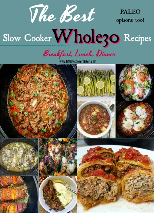 Whole30 is more than just a diet, it's a lifestyle. Here are hundreds of of my favorite whole30 slow cooker recipes from my blog. More than enough to complete an entire round of whole30 without having to repeat a meal.