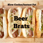 cover pic for {VIDEO} Slow Cooker Instant Pot Beer Brats