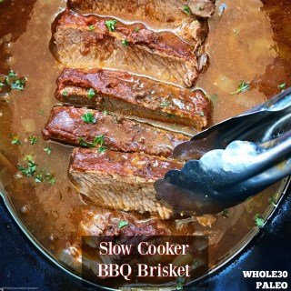 Slow Cooker BBQ Brisket (Paleo/Whole30)
