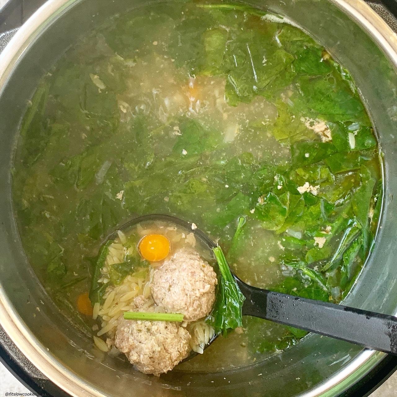 italian wedding soup in the instant pot