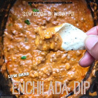 {VIDEO} Slow Cooker/Instant Pot Enchilada Dip (Low-Carb, Keto)