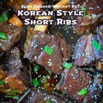 cover pic for {VIDEO} Slow CookerInstant Pot Korean Style Short Ribs (Low-Carb, Paleo, Whole30)