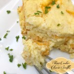 Slow cooker cheese souffle is an easy, flavorful recipe that's also a crowd pleaser. Breakfast, brunch, lunch, dinner...serve this souffle anytime of the day.