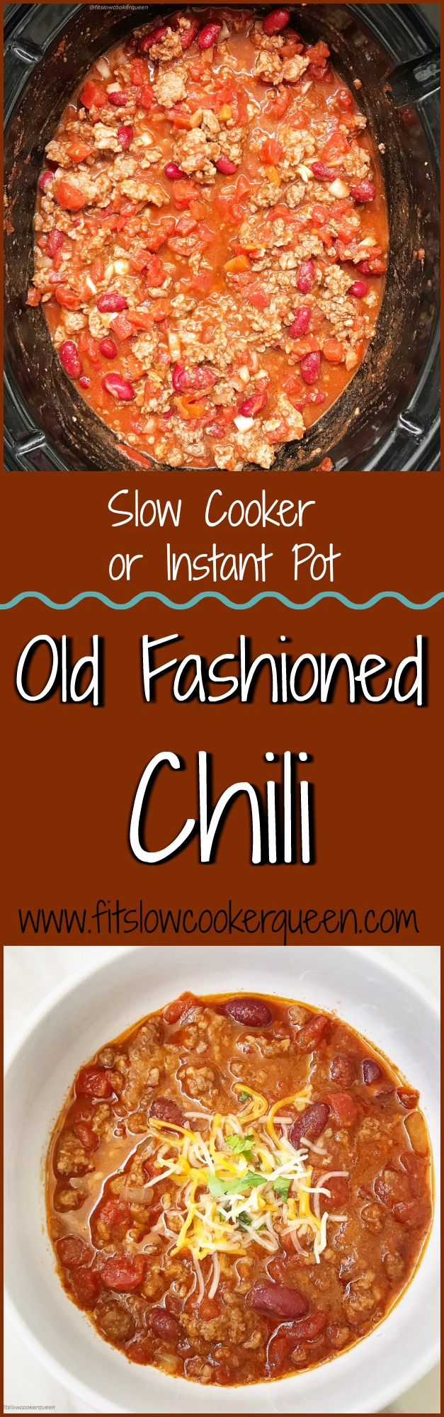 Chili is an easy and comforting recipe that everyone seems to enjoy. This simple yet flavorful recipe can be made in the Instant Pot or slow cooker.